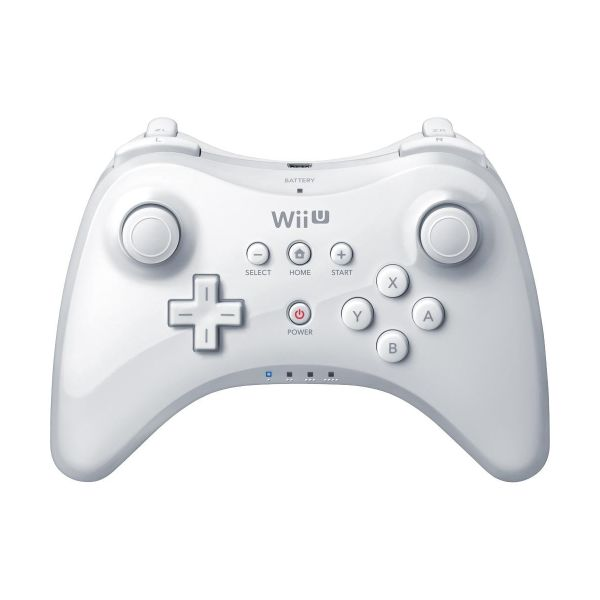 Nintendo Wii U Pro Controller, white