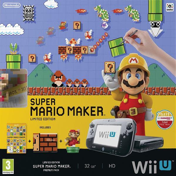 Nintendo Wii U Super Mario Maker Premium Pack 32GB (Limited Edition)