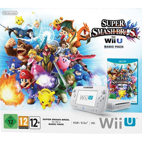 Nintendo Wii U Super Smash Bros. for Wii U 8GB Basic Pack