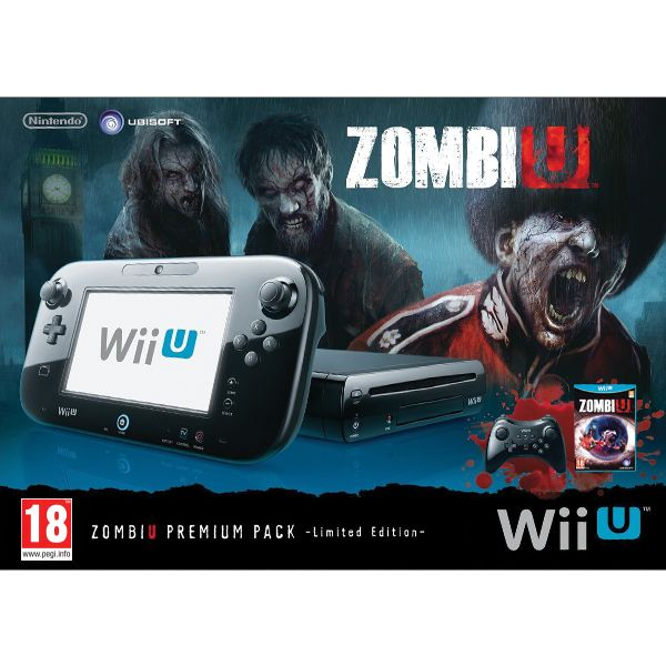 Nintendo Wii U ZombiU Premium Pack 32GB (Limited Edition)