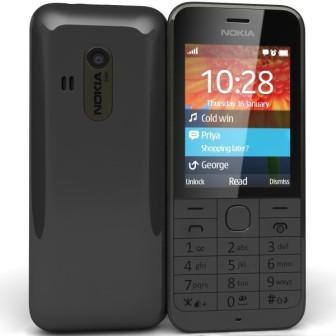 Nokia 220 | Black, Trieda A - použité, záruka 12 mesiacov