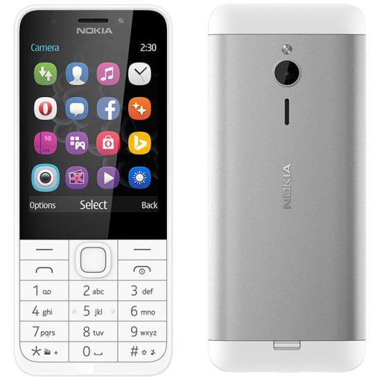 Nokia 230, Dual SIM, Silver - SK distribúcia A00026951