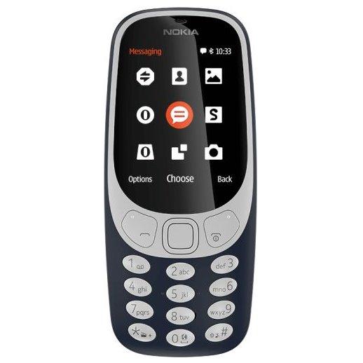 Nokia 3310 (2017), Dual SIM, blue A00028108