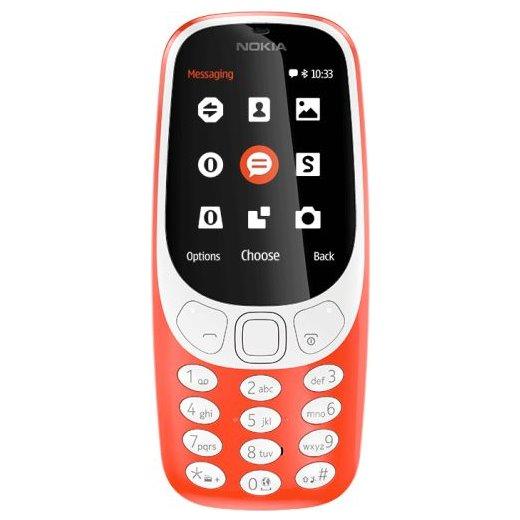 Nokia 3310 (2017), Dual SIM, red A00028109