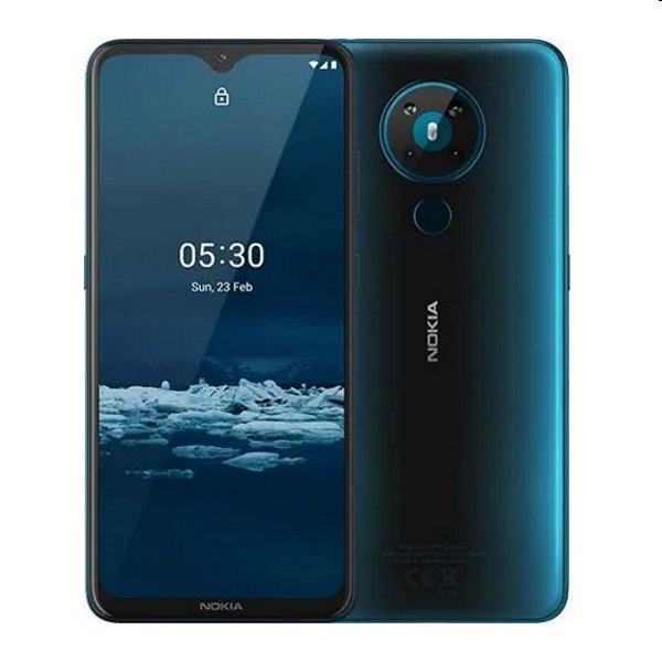 Nokia 5.3, Dual SIM, 4/64 GB, Blue - SK distribúcia NOKIA 5.3 DS 4/64 CYAN