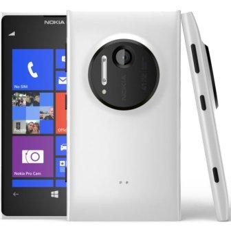 Nokia Lumia 1020, WindowsPhone 8   White, Trieda C - použité, záruka 12 mesiacov