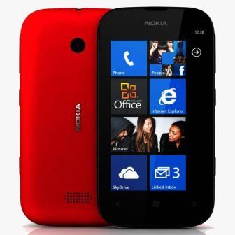 Nokia Lumia 510, WindowsPhone 8 | Red, Trieda C - použité, záruka 12 mesiacov