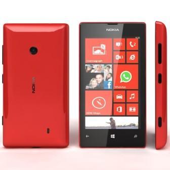Nokia Lumia 520, WindowsPhone 8 | Red, Trieda B - použité, záruka 12 mesiacov
