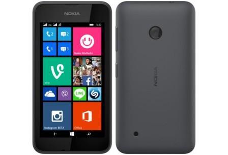 Nokia Lumia 530, WindowsPhone 8 | Black, Trieda B - použité, záruka 12 mesiacov