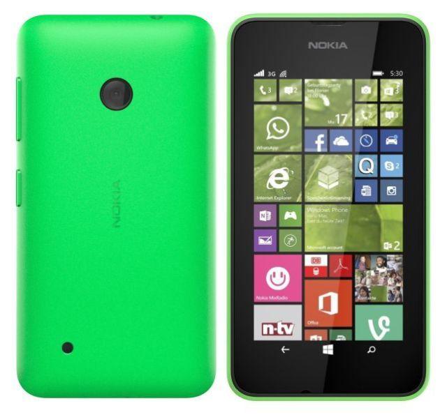 Nokia Lumia 530, WindowsPhone 8 | Green, Trieda A - použité, záruka 12 mesiacov