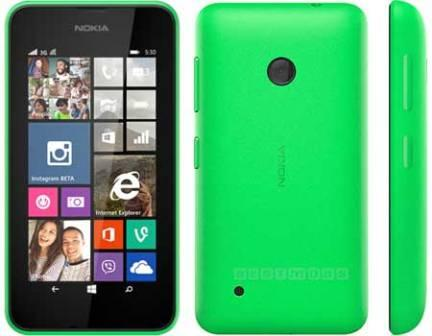 Nokia Lumia 530, WindowsPhone 8 | Green, Trieda B - použité, záruka 12 mesiacov