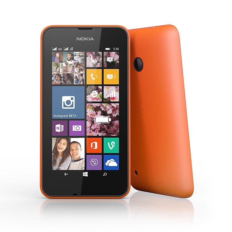 Nokia Lumia 530, WindowsPhone 8 | Orange, Trieda A - použité, záruka 12 mesiacov
