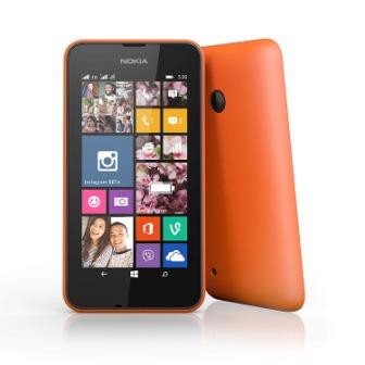 Nokia Lumia 530, WindowsPhone 8 | Orange, Trieda B - použité, záruka 12 mesiacov