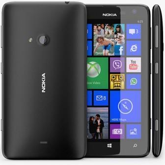 Nokia Lumia 625, WindowsPhone 8   Black, Trieda C - použité, záruka 12 mesiacov