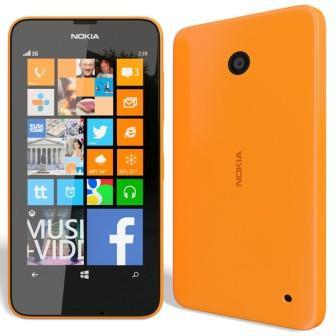 Nokia Lumia 630, WindowsPhone 8   Orange, Trieda A - použité, záruka 12 mesiacov