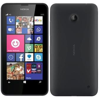 Nokia Lumia 635, WindowsPhone 8 | Black, Trieda A - použité, záruka 12 mesiacov