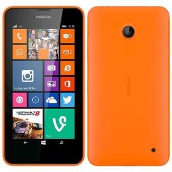 Nokia Lumia 635, WindowsPhone 8 | Orange, Trieda B - použité, záruka 12 mesiacov