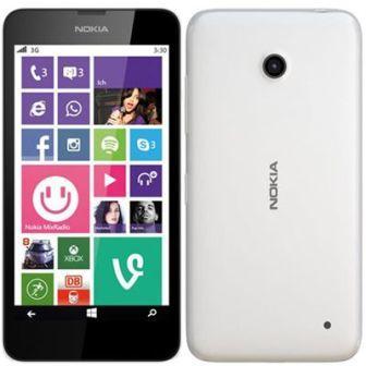 Nokia Lumia 635, WindowsPhone 8 | White, Trieda A - použité, záruka 12 mesiacov