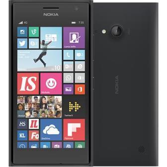 Nokia Lumia 735, WindowsPhone 8 | Dark Gray, Trieda A - použité, záruka 12 mesiacov