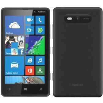 Nokia Lumia 820, WindowsPhone 8 | Black, Trieda A - použité, záruka 12 mesiacov
