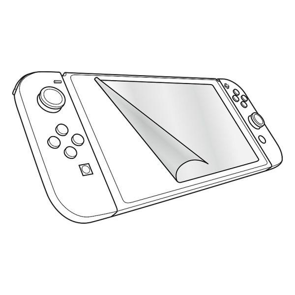 Ochranná fólia Speedlink Glance Screen Protection Kit pre Nintendo Switch