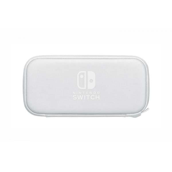 Ochranné puzdro a fólia pre konzolu Nintendo Switch Lite, biele