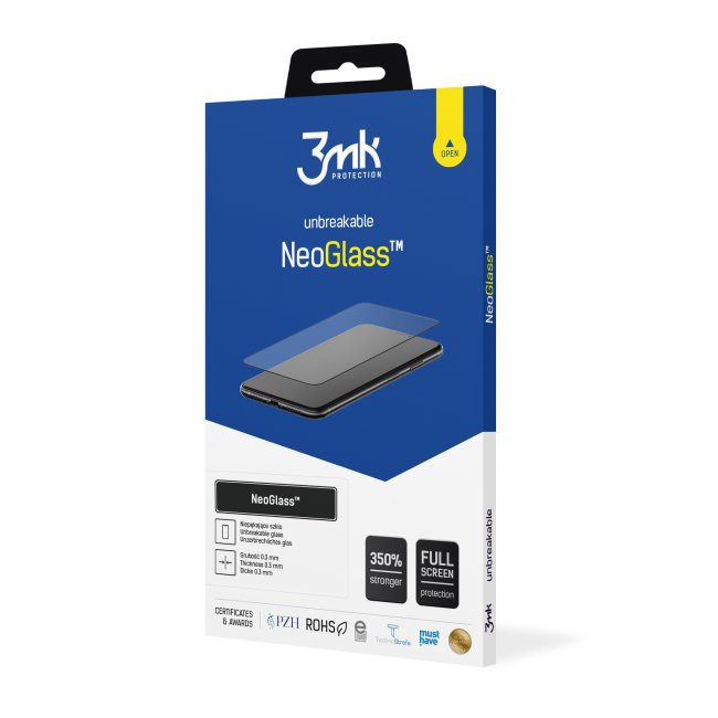 Ochranné sklo 3mk NeoGlass pre Apple iPhone 11/XR, Black