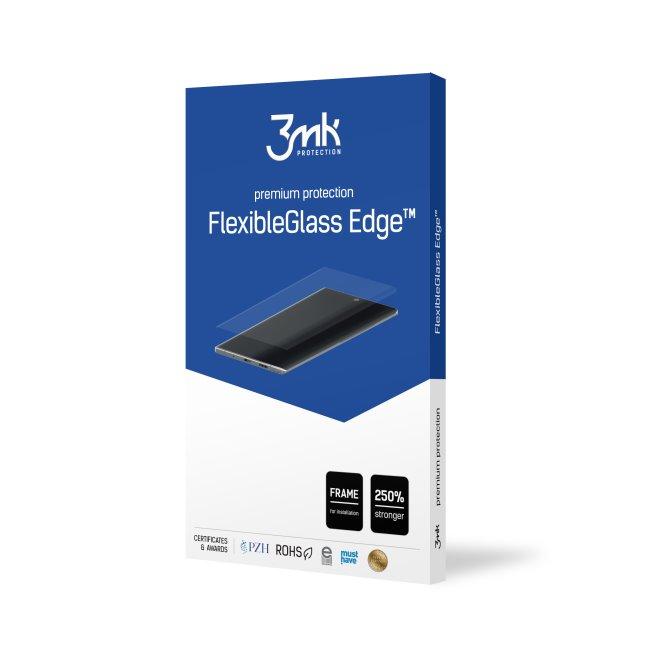 Ochranné hybridné sklo 3mk FlexibleGlass Edge pre Samsung Galaxy Note 10 Plus, čierne 3MK173223