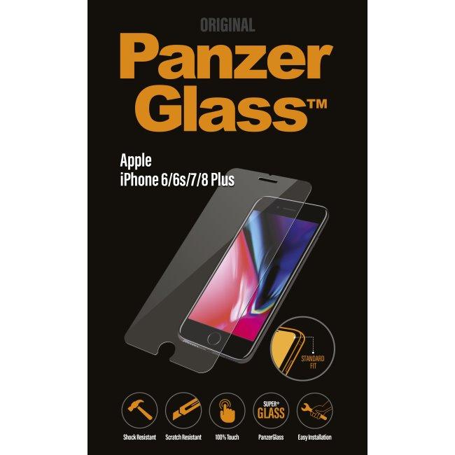 Ochranné temperované sklo PanzerGlass Standard Fit pre Apple iPhone 6/6S/7/8 Plus