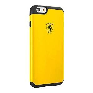 Odolné puzdro Scuderia Ferrari pre Apple iPhone 6 a 6S, Yellow/Black