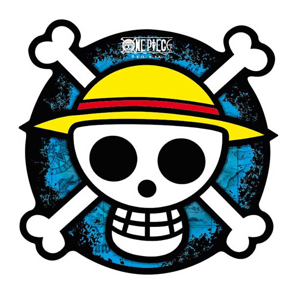 One Piece Mousepad - Skull