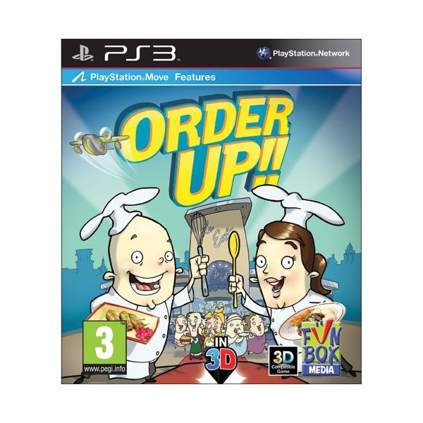 Order Up!! [PS3] - BAZÁR (použitý tovar)