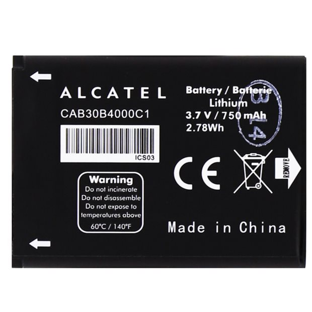 Originálna batéria pre Alcatel One Touch 2010 a 2010D - (750mAh)