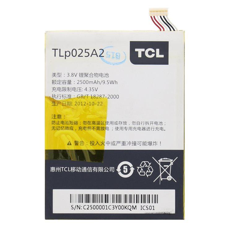 Originálna batéria pre Alcatel OneTouch 6043D Idol X+ - (2500 mAh)