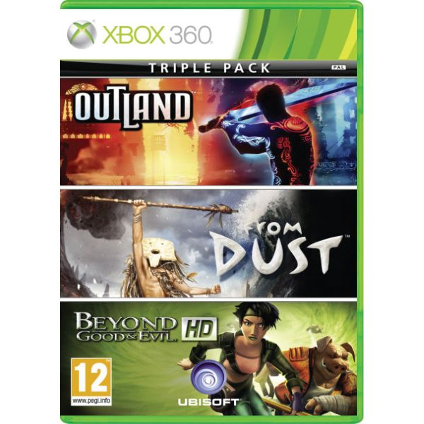 Outland + From Dust + Beyond Good & Evil HD (Triple Pack) [XBOX 360] - BAZ�R (pou�it� tovar)