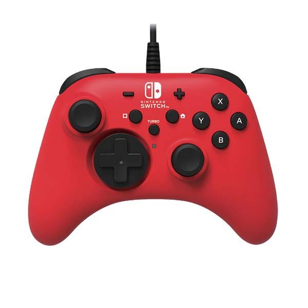 HORI Horipad pre konzoly Nintendo Switch, červený