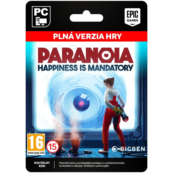 Paranoia: Happiness is Mandatory [Epic Store]