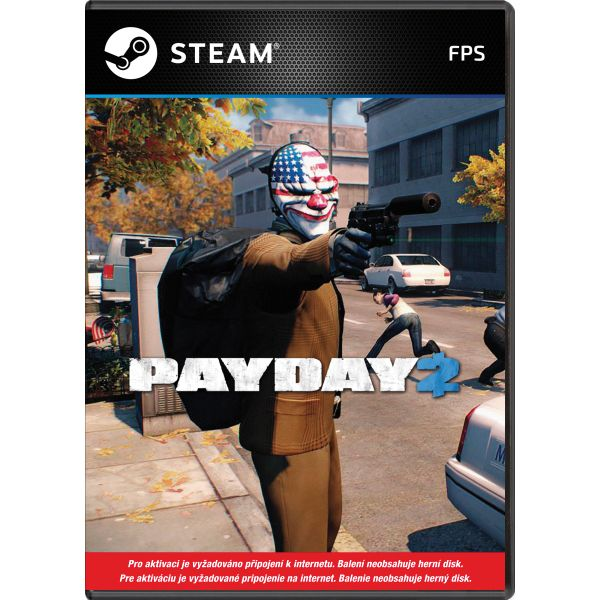 PayDay 2 PC Code-in-a-Box CD-key