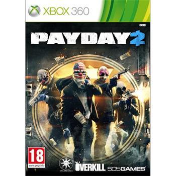 PayDay 2 XBOX 360 - BAZÁR (použitý tovar)