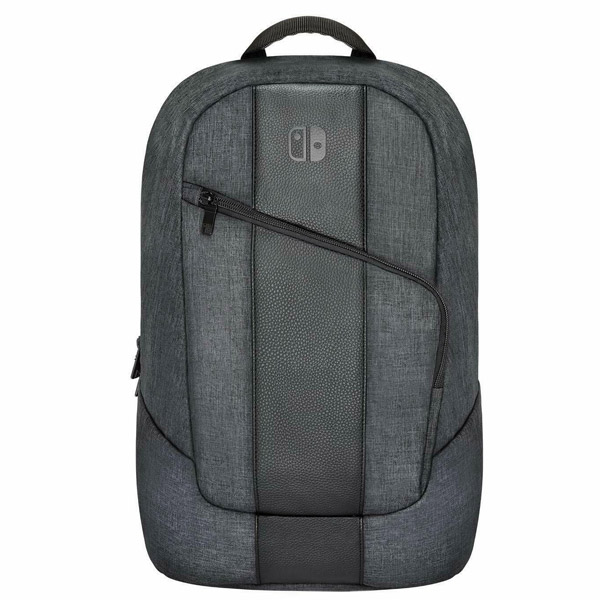 PDP Elite Player Backpack for Nintendo Switch, gray 500-118-EU