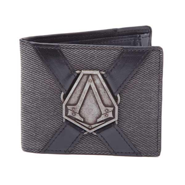 Peňaženka Assassin's Creed Syndicate - Logo kovové