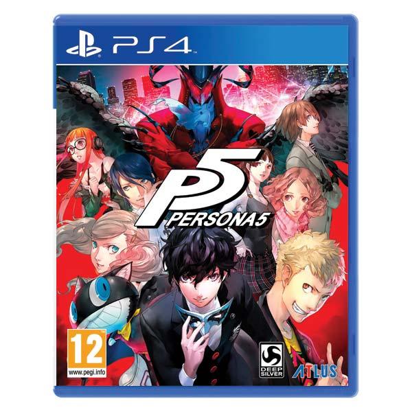 Persona 5 [PS4] - BAZÁR (použitý tovar)