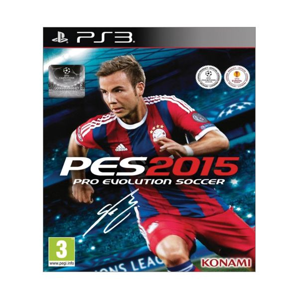 PES 2015: Pro Evolution Soccer [PS3] - BAZÁR (použitý tovar)