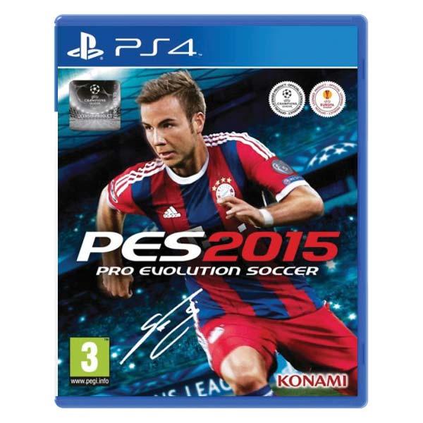 PES 2015: Pro Evolution Soccer [PS4] - BAZÁR (použitý tovar)