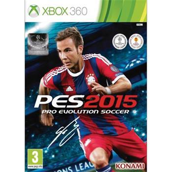 PES 2015: Pro Evolution Soccer [XBOX 360] - BAZÁR (použitý tovar)