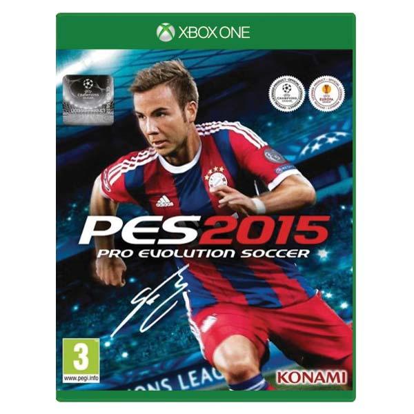 PES 2015: Pro Evolution Soccer [XBOX ONE] - BAZÁR (použitý tovar)