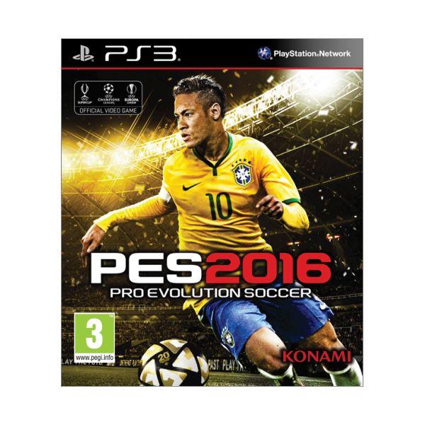 PES 2016: Pro Evolution Soccer [PS3] - BAZÁR (použitý tovar)