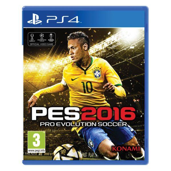 PES 2016: Pro Evolution Soccer [PS4] - BAZÁR (použitý tovar)