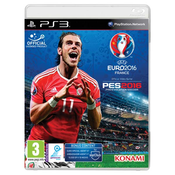PES 2016: Pro Evolution Soccer (UEFA Euro 2016 Edition)