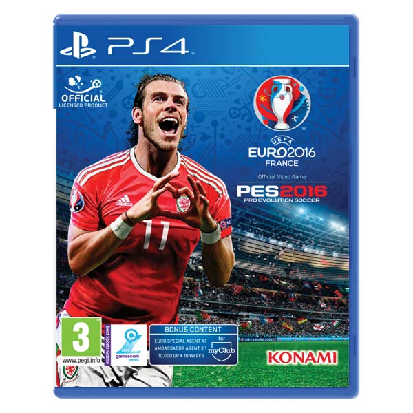 PES 2016: Pro Evolution Soccer (UEFA Euro 2016 Edition) [PS4] - BAZ�R (pou�it� tovar)